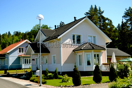skandinavisches privathaus