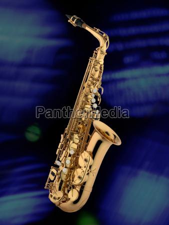 blau musik stimmung atmosphaere jazz saxophon