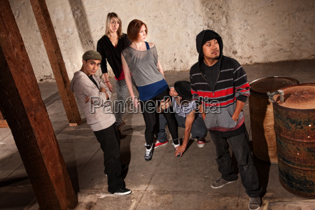 modern dance crew