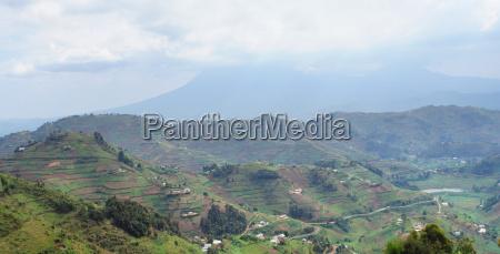 virunga mountains in uganda