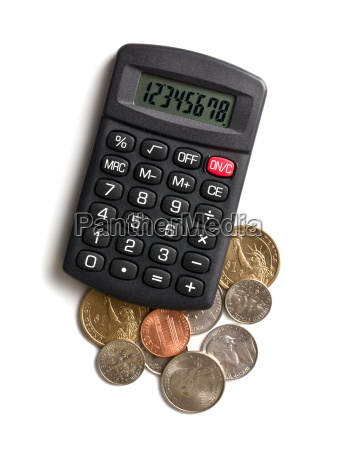 calculator and american currency