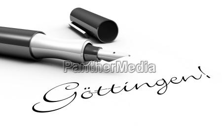 goettingen pen concept