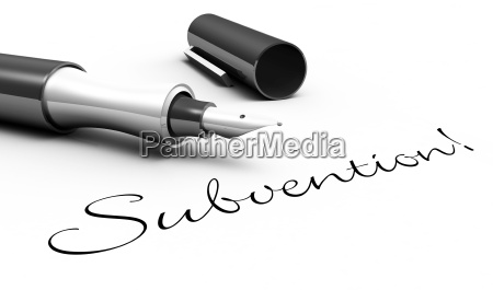 subvention stift konzept