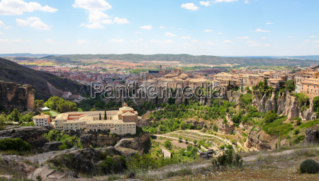 cuenca in castille la mancha spain