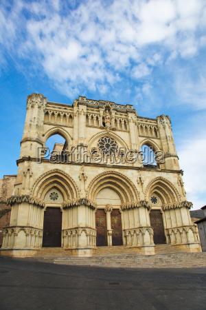 cathedral of cuenca in castille la