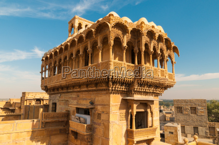 haveli mansion in jaisalmer india