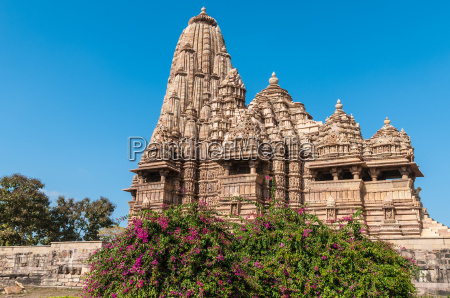 ornate temple made of sandstone in
