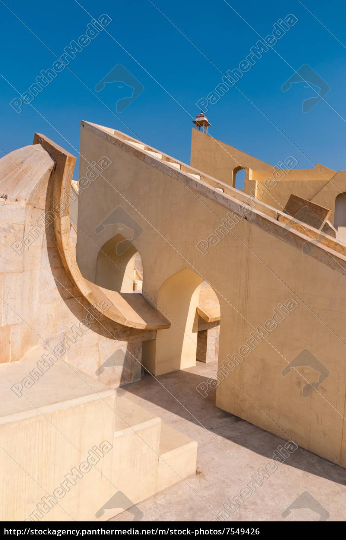 die, große, observatorium, von, jaipur, indien - 7549426