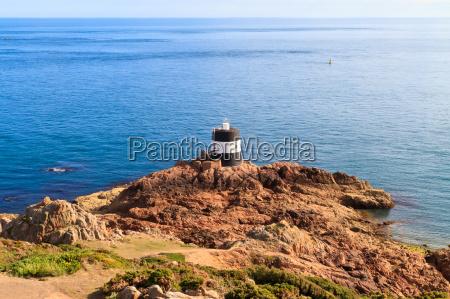 noirmont point leuchtturm st aubins bay