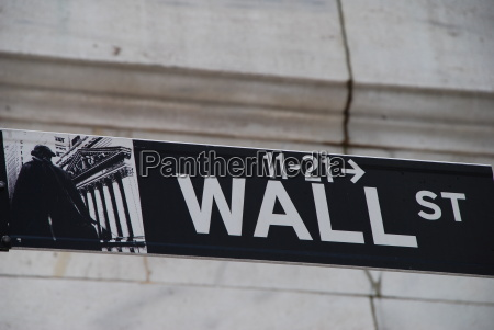 wall street new york usa