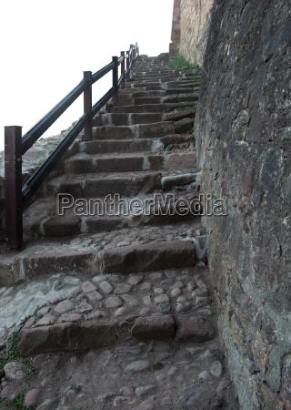 stairs at the hochburg emmendingen