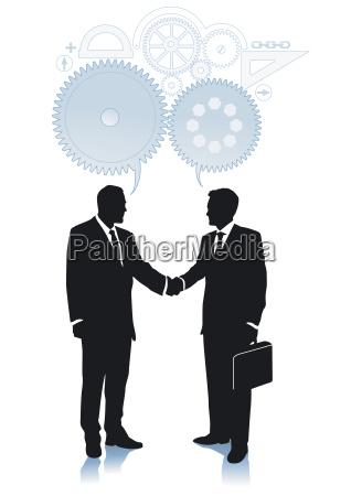 einigung und zusammenarbeit