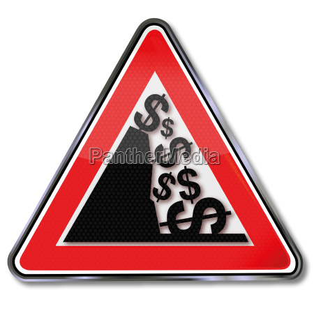 sign dollar avalanche