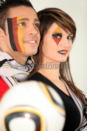 fans of the german football team