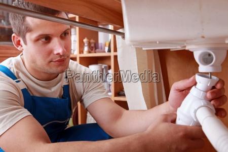 plumber festsetzung spuele