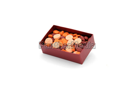 pill in gift box
