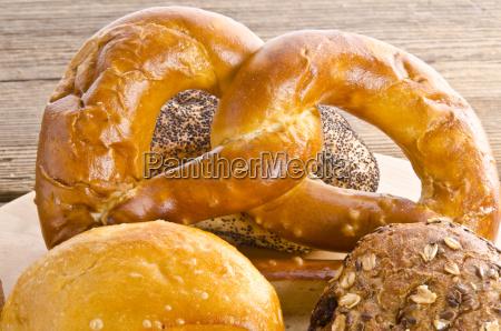 mixed bread rolls