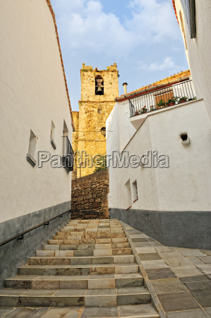 streets of the small old spanish