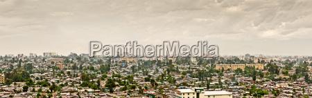 panoramic view of addis ababa