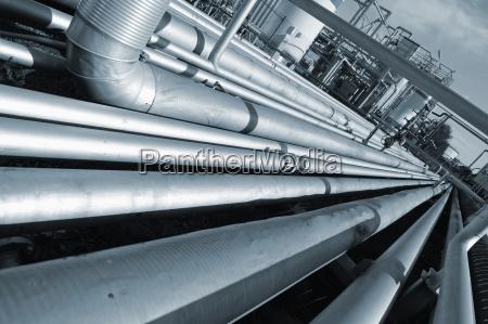 grande costruzione del gasdotto