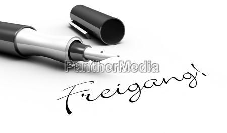 free gear pen concept