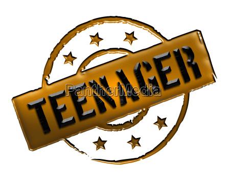 stamp teenager