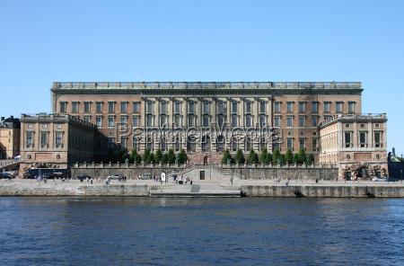 koenigliches schloss in stockholm