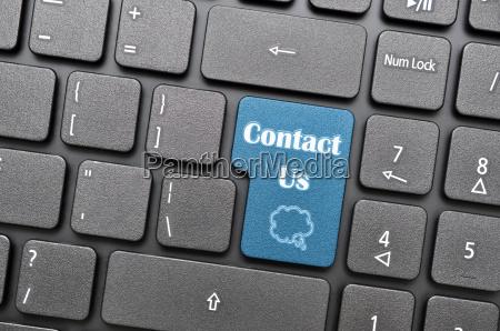 contact us on keyboard