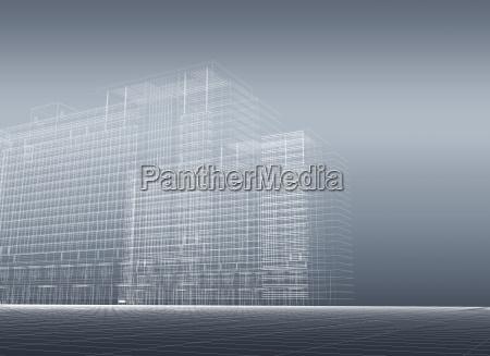 architectural 3d construction