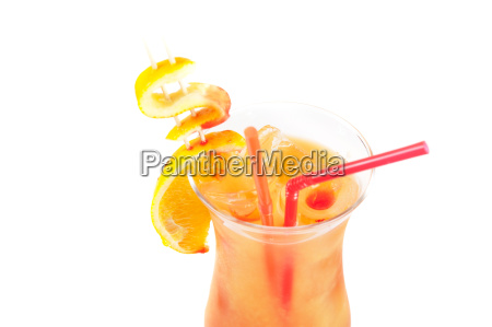 orange dollar cocktail