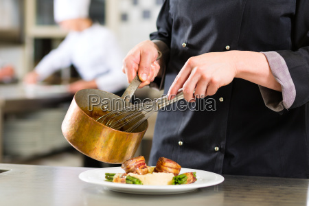 cook cook in a restaurant or