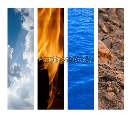 ciencia cuatro astrologia elementos naturaleza natural