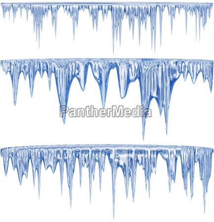 blau winter arktis kalt kaelte schnee