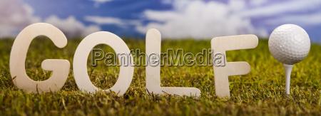 sport lebensstil ball verein golfen golfspiel