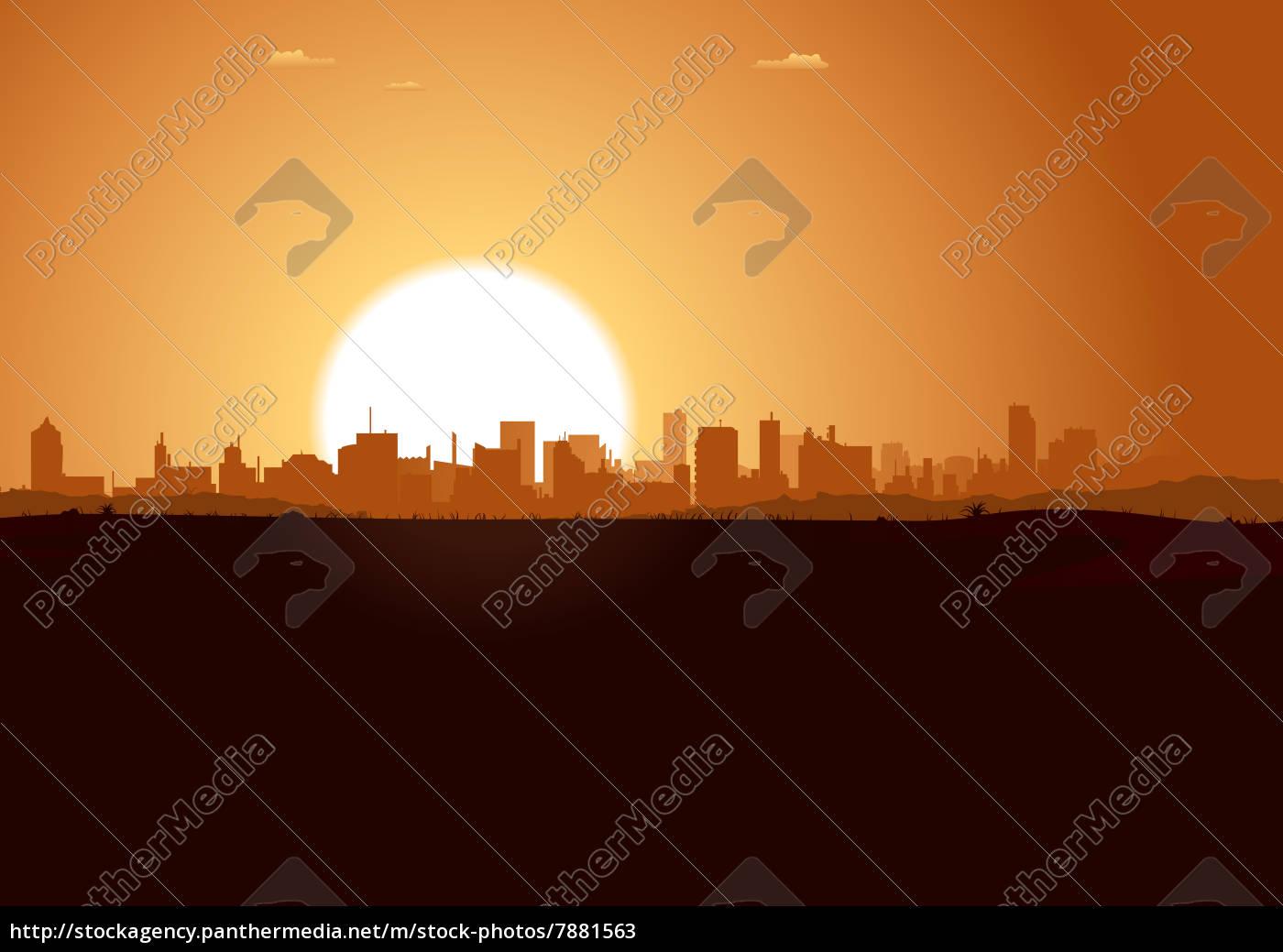 sonnenaufgang, urban, landscape - 7881563