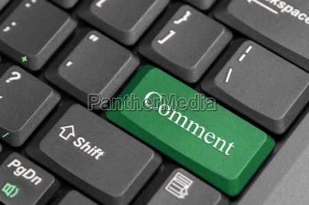comment on keyboard