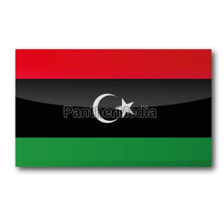 flagge libyen