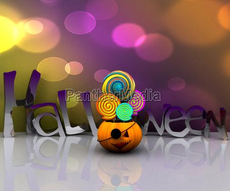 suesses halloween bonbon bonbons putzig kuerbis