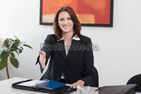 donna ufficio affare affari lavoro professione