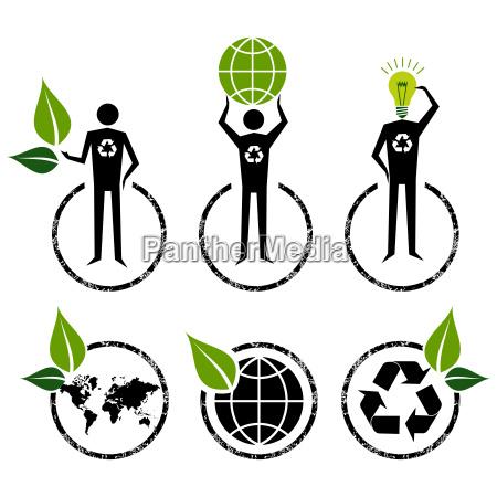 go green zeichen ideen