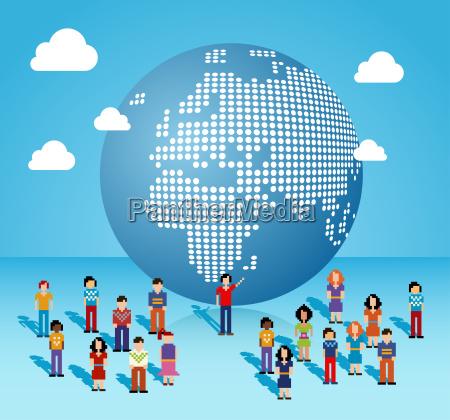 globale social media netzwerk in europa