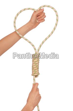 selbstmord mit seil