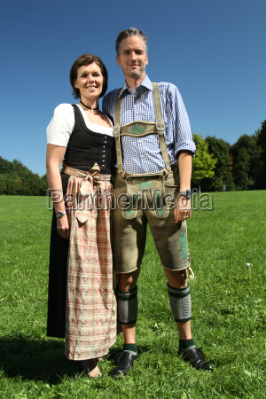 bavarian couple
