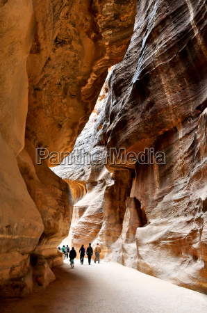 the siq the narrow slot canyon
