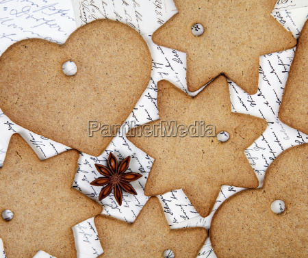 winter pastry hearts baked heart christmas