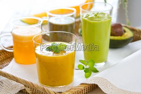 frisches obst smoothie