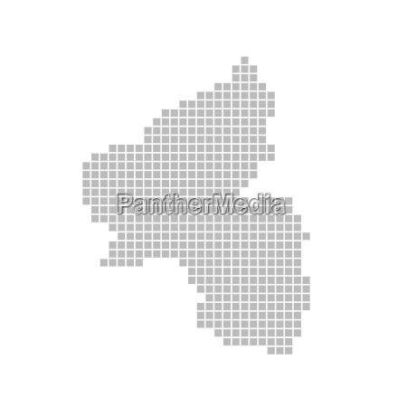 karte aus pixeln rheinland pfalz