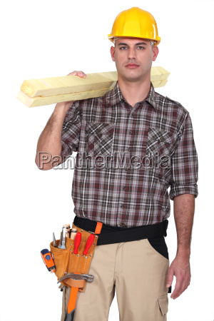 a male carpenter