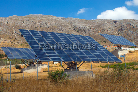 solar plant in crete