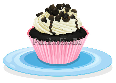 cake in a dish